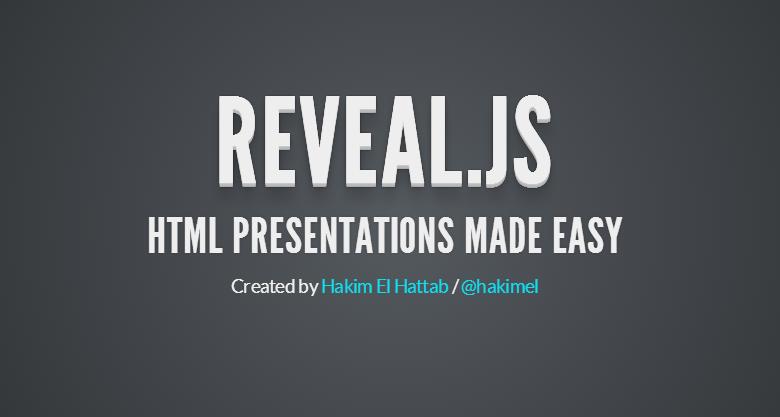 reveal js